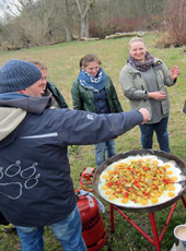 Essen Kochen Outdoor Event